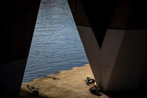 Quai de Seine sous les lumières