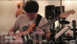 Video solo de guitare de Beat it - Van Halen