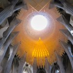 Barcelone : Sagrada Familia puit de lumière #2