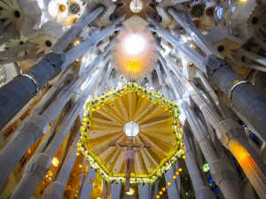 Barcelone : Sagrada Familia le christ #3