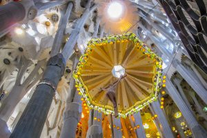 Barcelone : Sagrada Familia le christ #1