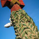 Barcelone : Sagrada Familia détail exterieur#1